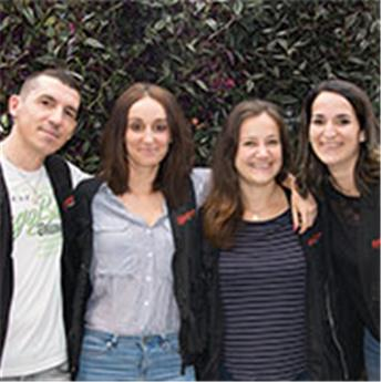 Ludivine, Maud, Laetitia et Benjamin