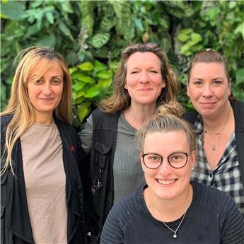 Besma, Daphna, Flora, Justine